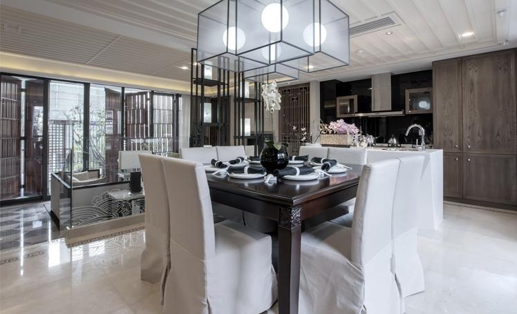 两室一厅中式风格房屋装客厅修效果图片