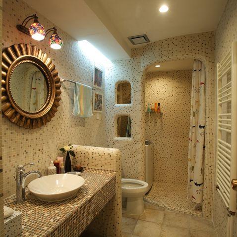 重庆港宏宜家装饰公司 卫生间淋浴房装修效果图欣赏