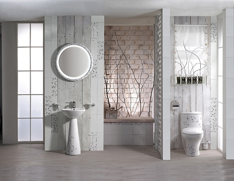 重庆港宏宜家装饰公司 卫生间淋浴房装修效果图欣赏高清图片