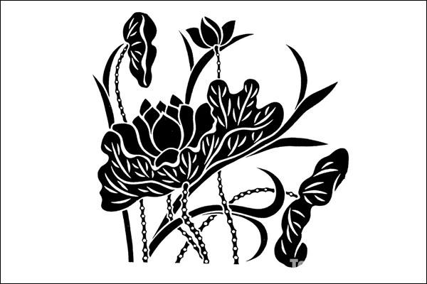 黑白画有创意简单图片内容黑白画有创意简单图片