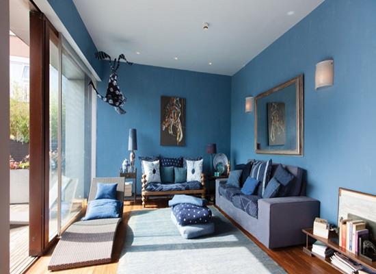 家居装修客厅墙面涂料选什么颜色好?