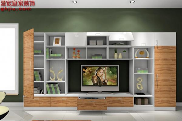 客厅电视柜标准尺寸 客厅电视柜效果图欣赏