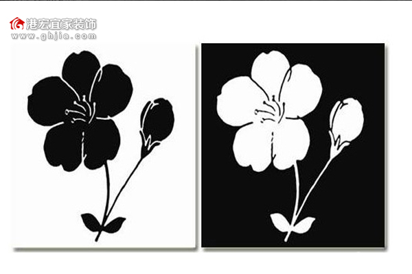 黑白装饰画图片大全赏析