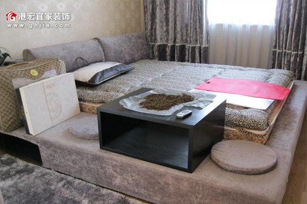 【重庆港宏宜家装饰公司】榻榻米卧室装修效果图