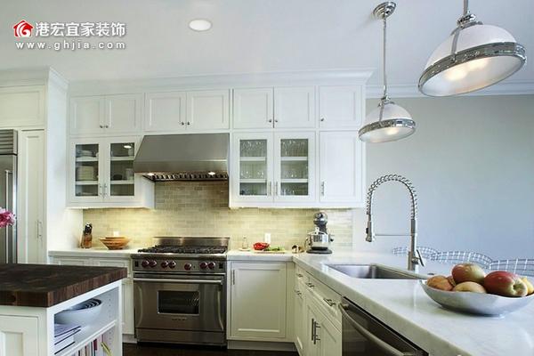 欧式厨房装修效果图大全