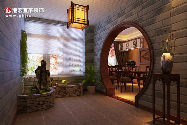 现在的家居装修变得越来越多元化了,如今入户花园的概念已经得到了大多数业主的认可,甚至有很多业主认为独特的入户花园设计,设计出来非常的有创意新颖,能够让整个家居装修效果锦上添花,起到一个画龙点睛的作用。既然大家都这么看重入户花园的装修,那么接下来就和重庆港宏宜家装饰公司小编一起来了解一下入户花园的装修之道吧。    每家每户在入户的玄关处设置一个花园,在入户大门和客厅之间形成一个过渡,将客厅与外界隔绝,增加家庭的私密性,同时又可以丰富室内的空间布局,还可以营造出一种家庭温馨浪漫的气氛,何乐而不为呢?