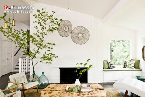 居家客厅绿色植物摆放 注意摆放风水禁忌