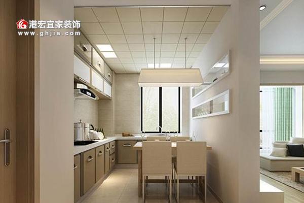 厨房装修设计-开放式厨房效果图