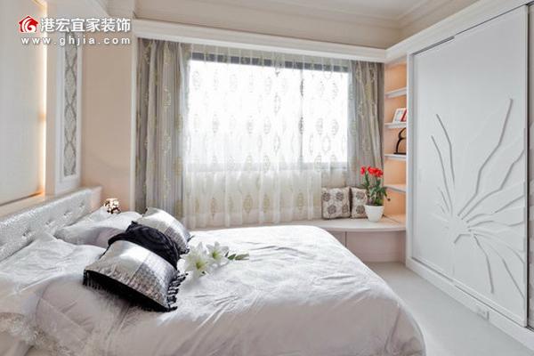 细木工板打底,饰面板飘窗-重庆整体家装公司