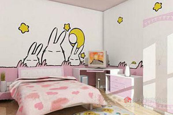儿童手绘墙的颜料选择非常重要,市场上最常见的丙烯颜料就属于环保