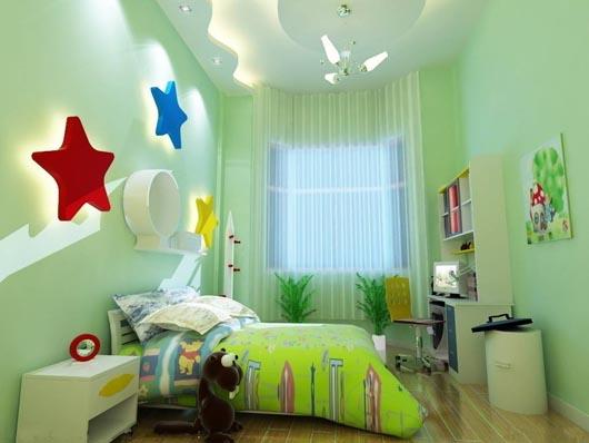 儿童房装修不能忽略三点注意事项